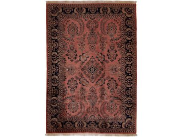 Tapis Vintage 289x203 Marron/Rouille (Laine, Inde, Noué à la main)