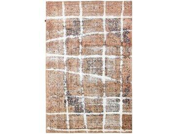 Tapis Vintage Royal 374x246 Beige/Marron Foncé (Laine, Perse/Iran, Noué à la main)
