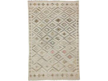 Tapis Kilim Afghan Heritage 272x172 Moderne/Design Gris/Beige (Tissé à la main, Laine, Afghanistan)