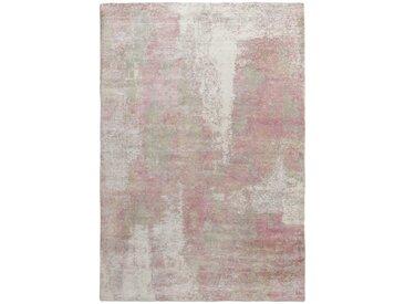 Tapis Authentique Design Loom Impression 303x199 Beige/Rose (Laine, Inde, Travaux d'aiguille)
