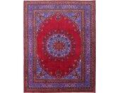 Tapis Fait Main Mashhad 329x255 Rouge/Rouille (Laine, Perse/Iran)
