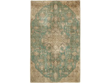 Tapis Vintage Royal 225x136 Beige/Marron Foncé (Laine, Perse/Iran, Noué à la main)