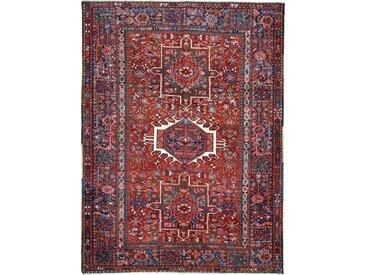 Tapis Persan Sarab Antique 194x148 Sarab Antique Gris Foncé/Marron Foncé (Noué à la main, Perse/Iran, Laine)