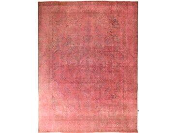 Tapis Vintage 387x296 Rouge/Rose (Laine, Perse/Iran, Noué à la main)