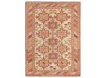 Tapis Kilim Soumak Shahsavan 145x109 Beige/Rose (Laine, Perse/Iran, Noué à la main)