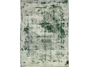 Tapis Vintage Royal 292x210 Beige/Vert Foncé (Laine, Perse/Iran, Noué à la main)