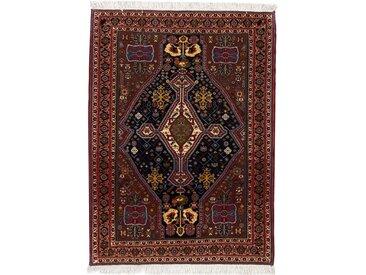 Tapis Fait Main Ghashghai 111x81 Marron Foncé/Rouille (Laine, Perse/Iran)