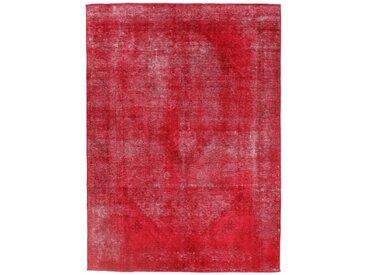 Tapis Vintage Royal 270x194 Orange/Rouge (Laine, Perse/Iran, Noué à la main)