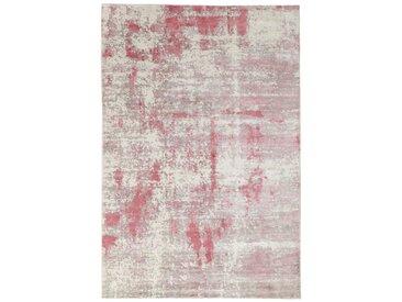 Tapis Authentique Design Loom Impression 239x162 Gris/Beige (Laine, Inde, Travaux d'aiguille)