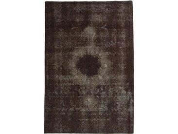 Tapis D'orient Vintage Royal 281x188 Gris Foncé/Marron Foncé (Laine, Perse/Iran, Noué à la main)