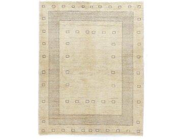 Tapis Persan Gabbeh Kashkuli 200x153 Beige (Laine, Perse/Iran, Noué à la main)