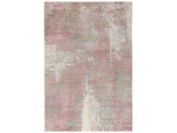 Tapis Authentique Design Loom Impression 237x162 Gris/Rose (Laine, Inde, Travaux d'aiguille)