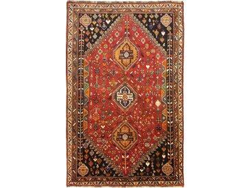 Tapis Persan Ghashghai 274x175 Ghashghai Gris Foncé/Orange (Noué à la main, Perse/Iran, Laine)