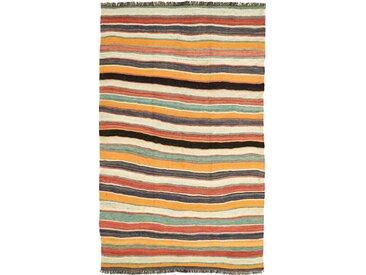 Tapis Kilim Fars Antique 270x160 Beige/Orange (Laine, Perse/Iran, Noué à la main)