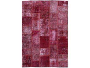 Tapis Patchwork 241x169 Violet/Rose (Laine, Perse/Iran, Noué à la main)