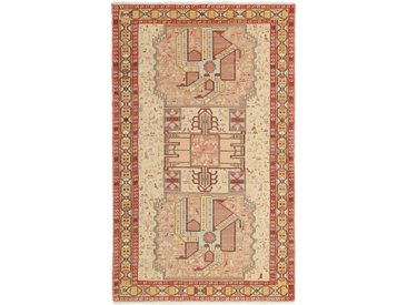 Tapis Fait Main Kilim Soumak Shahsavan 195x119 Marron/Orange (Laine, Perse/Iran)