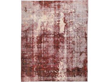 Tapis D'orient Vintage 263x211 Rouge/Rouille (Perse/Iran, Laine, Noué à la main)