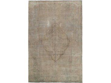 Tapis Vintage Royal 277x183 Gris/Beige (Laine, Perse/Iran, Noué à la main)