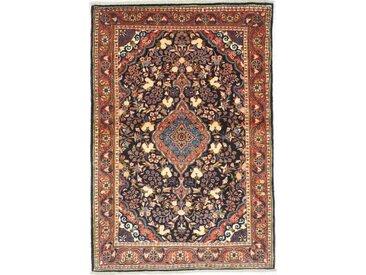 Tapis Fait Main Malayer 152x104 Beige/Rose (Laine, Perse/Iran)