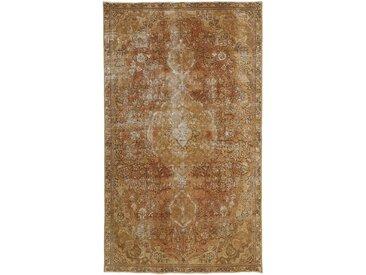 Tapis D'orient Vintage Royal 261x151 Beige/Marron (Laine, Perse/Iran, Noué à la main)