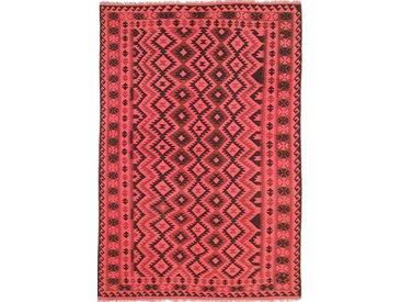 Tapis D'orient Kilim Afghan Heritage Limited 280x196 Marron Foncé/Orange (Tissé à la main, Afghanistan, Laine)
