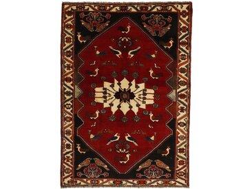 Tapis Ghashghai 263x188 Moderne/Design Gris Foncé/Rouge Foncé (Noué à la main, Laine, Perse/Iran)