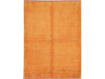 Tapis D'orient Persan Gabbeh Kashkuli 235x174 Jaune/Orange (Perse/Iran, Laine, Noué à la main)