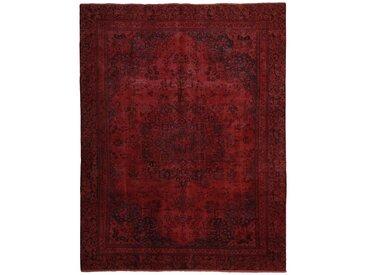 Tapis Vintage Royal 344x265 Marron Foncé/Violet (Laine, Perse/Iran, Noué à la main)