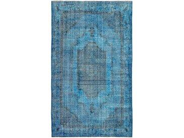 Tapis Fait Main Vintage Royal 291x170 Gris Foncé/Turquoise (Laine, Perse/Iran)