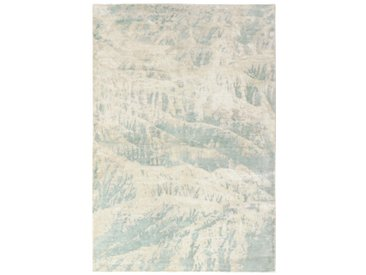 Tapis Authentique Design Loom Impression 236x160 Gris/Beige (Laine, Inde, Travaux d'aiguille)
