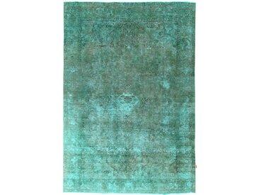 Tapis Persan Vintage 299x206 Vintage Gris Foncé/Bleu (Noué à la main, Perse/Iran, Laine)
