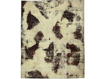Tapis Vintage Royal 259x209 Beige/Marron Foncé (Laine, Perse/Iran, Noué à la main)