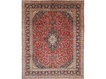 Tapis Vintage 369x289 Beige/Rouille (Laine, Perse/Iran, Noué à la main)