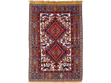 Tapis Kilim Fars Antique 145x97 Gris Foncé/Marron Foncé (Laine/Soie, Perse/Iran, Noué à la main)