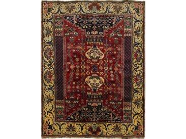 Tapis Persan Shiraz 234x180 Shiraz Gris Foncé/Marron Foncé (Noué à la main, Perse/Iran, Laine)