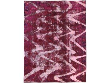 Tapis Vintage Royal 354x271 Rouge/Rose (Laine, Perse/Iran, Noué à la main)