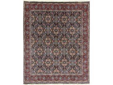 Tapis Fait Main Bidjar 249x203 Marron Foncé/Violet (Laine, Perse/Iran)