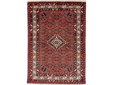 Tapis D'orient Mohajeran Antique 144x99 Beige/Violet (Perse/Iran, Laine, Noué à la main)