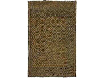 Tapis Tissé à la Main Kilim Afghan Heritage 264x170 Marron (Laine, Afghanistan)