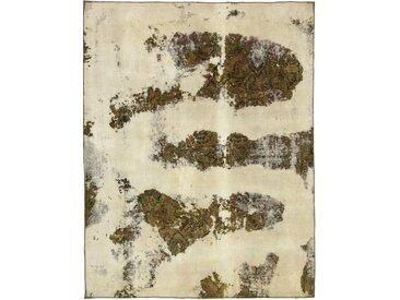 Tapis D'orient Vintage Royal 229x175 Beige/Marron Foncé (Laine, Perse/Iran, Noué à la main)