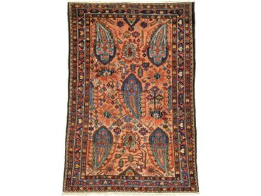 Tapis Persan Bakhtiar Antique 204x137 Bakhtiar Antique Marron/Orange (Noué à la main, Perse/Iran, Laine)