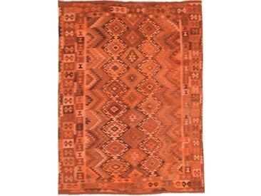 Tapis Authentique Kilim Afghan Heritage Limited 281x214 Marron/Rouge (Laine, Afghanistan, Tissé à la main)
