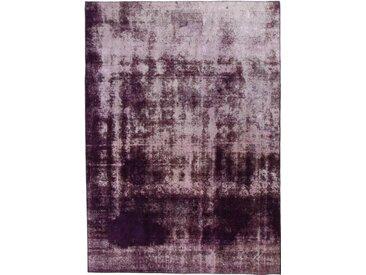 Tapis D'orient Vintage 327x236 Gris Foncé/Violet (Laine, Perse/Iran, Noué à la main)