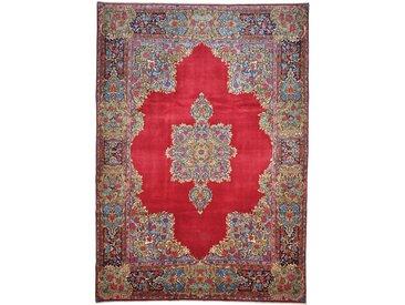Tapis Persan Kerman 375x266 Kerman Rouille/Violet (Noué à la main, Perse/Iran, Laine)