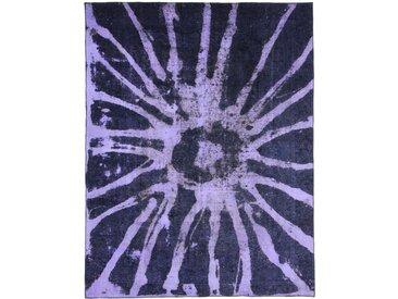 Tapis Vintage Royal 337x262 Bleu/Violet (Laine, Perse/Iran, Noué à la main)