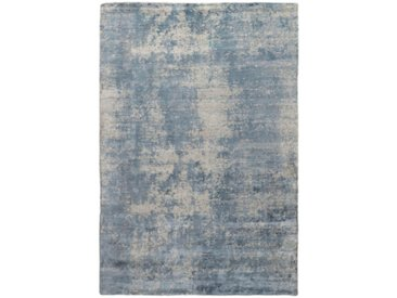 Tapis D'orient Design Loom Impression 304x203 Gris Foncé/Bleu Clair (Laine, Inde, Travaux d'aiguille)
