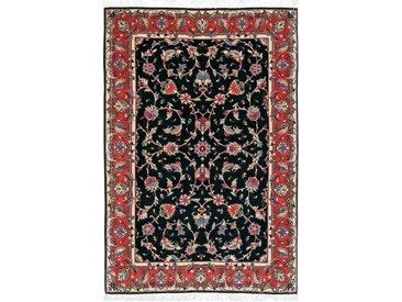 Tapis Persan Tabriz 50Raj 145x101 Tabriz 50Raj Beige/Marron Foncé (Noué à la main, Perse/Iran, Laine/Soie)