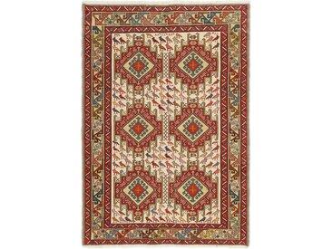 Tapis D'orient Kilim Soumak Shahsavan 150x103 Beige/Rouille (Laine, Perse/Iran, Noué à la main)