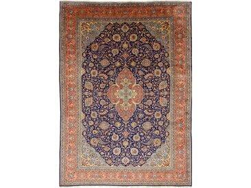 Tapis Fait Main Sarough 415x294 Gris Foncé/Beige (Laine, Perse/Iran)