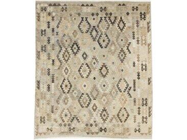 Tapis D'orient Kilim Afghan Heritage 291x250 Gris/Beige (Tissé à la main, Afghanistan, Laine)